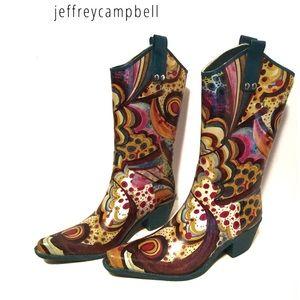 (Jeffrey Campbell) sz 8 Mae cowboy rain boots